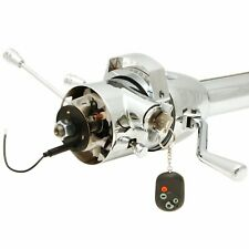 "33"" Chrome Steering Column Automatic with Built in Ignition Switch"