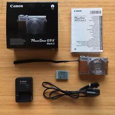 Canon Powershot G9 X Mark II 20.1 MP CMOS Sensor Digital Camera