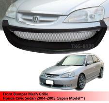 Front Bumper Mesh Grille Use For For Honda Civic Sedan 2004 2005 Japan Model Fits 2004 Honda Civic