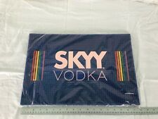 SKYY VODKA Bar Drip Mat NEW Pink Lettering Rainbow LGBTQ+ PRIDE COOL!