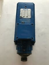 Used 16hp Komo Gc Colombo Spindle Motor Rv15422 Fb3 Cpe Collet 230v 300hz