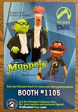 Jim Henson's Muppets Palisades Toy Tour Promo Ad Postcard 2 sided 2003 RARE