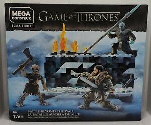 Game Of Thrones Mega Construx Black Series Battle Beyond The Wall 176 Piece Set
