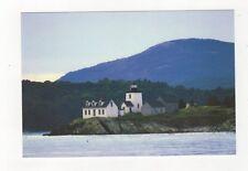Rockport Harbor Lighthouse Postcard USA 406a ^