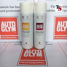 2 X Autoglym Hyper Fresh Air Freshener CRUSHED BERRIES & TROPICAL MIST 450ml