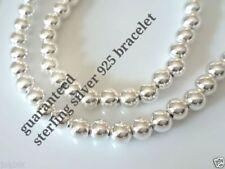 Sterling Silver Beaded 18 - 18.99cm Fine Bracelets