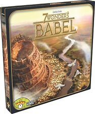 7 Wonders Babel Expansion Board Card Game Asmodee 2 Expansions in 1