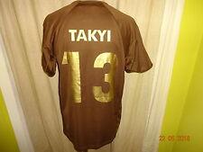 "FC St.Pauli DoYou Football Heim Trikot 2007/08 ""Congstar"" + Nr.13 Takyi Gr.L TOP"