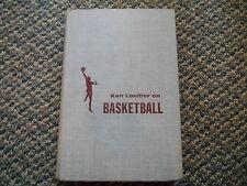 Old Vintage 1955 Ken Loeffler on Basketball Book w/ Ralph Bernstein 1st Edition