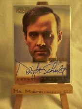 Star Trek Voyager Profiles auto autograph card A12 Dwight Schultz Barclay