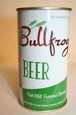 Bullfrog Beer 1950's flat top - Monarch Brewing Co., Chicago, Illinois