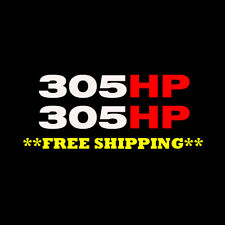 MUSTANG MACH 1 305hp Vinyl decal sticker 2 pack! FREE SHIPPING 2003-2004 4.6L