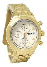 Fossil Womens Compass Stainless Steel Watch –Gold-Tone  #JR1434