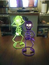 Partylite Skeleton Mr. Hocus & Mrs. Hocus Votive Tealight Candle Holder Nib