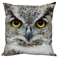 Animal Print Owl Decorative Cushions
