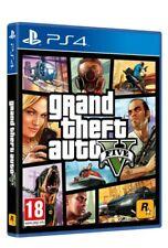 VIDEOGIOCO GTA 5 PS4 GRAND THEFT AUTO EU PLAY STATION 4 GTA V NUOVO