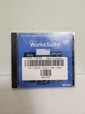 Microsoft Works Suite 2005_Brand new