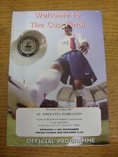 03/05/2007 North And Mid Hertfordshire Greg Cup Final: St Ippolyts v Fairlands [
