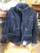 Dainese Ridder D1 Gore-Tex Motorcycle Jacket - Black / Ebony XL 58