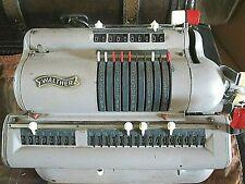 antike rechenmaschine v walther niederstotzingen WSR 160 nr138142 funktioniert