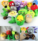 """A full set of 14 pcs Wholesale 6"""" Plants VS Zombies Soft Plush Toy With Sucker"""