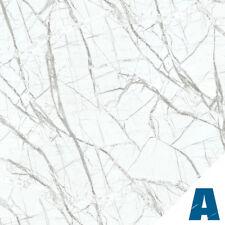 Pellicola Adesiva Carrara Bianco larg. 122 cm AL METRO LINEARE effetto marmo