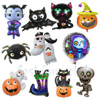 Giant Halloween Pumpkin Ghost Spider Foil Balloon Festival Party Home Decoration