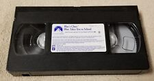 BLUE'S CLUES BLUE TAKES YOU TO SCHOOL Vhs Video Tape 2003 Nick Jr. Steve No Case