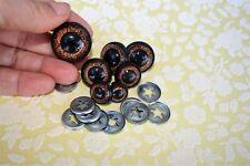 Yeux de sécurité 12 mm peluche poupées amigurumi artisanat