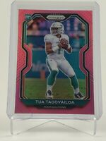 TUA TAGOVAILOA 2020 Panini Prizm SP RC Pink Prizm Card #339 Miami Dolphins