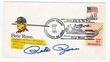 Baseball Pete Rose Autographed 1985 Cover - 4192 Hits Cincinnati Reds