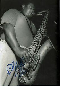 Pee Wee Ellis Autogramm signed 20x30 cm Bild s/w