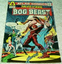 Tales of Evil: The Bog Beast 2, VF- (7.5) 1975 Atlas, 35% off Overstreet!