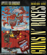 GUNS N' ROSES - APPETITE FOR DEMOCRACY DVD - LIVE - REGION FREE - AUTHENTIC US