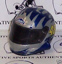 QTY 3 - JIMMIE JOHNSON #48 LOWE'S NASCAR POCKET PRO MINI HELMET