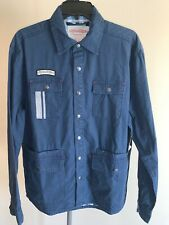 Troy Lee Designs TLD Service Jacket Long Sleeve Navy Adult Men's Medium M NWT