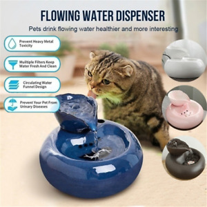 Pet USB Automatic Water Dispenser Cat/Dog Circulating Fountain Feeder Drink
