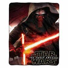Star Wars Episode Vii Force Awakens Royal Plush Raschel Throw Blanket Kylo Ren