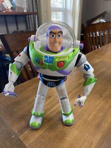 Vntg 2001 HASBRO Disney Pixar Buzz Lightyear w/Utility Belt *Complete/Working*