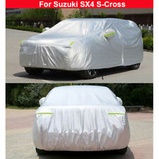 New Car Cover Waterproof Heat Sun Dust Cover For Suzuki SX4 S-Cross 2017-2021