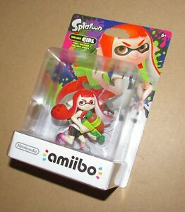 Nintendo Amiibo Inkling Girl Splatoon Brand New / Fast Shipping USA Version