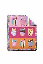Zutano Owl Bright Crib Set # 4 Piece