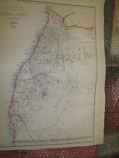 New South Wales Australia1863 Dispatch Atlas drawn E.Weller30x43cm Framed 20more