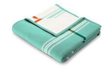 Schöne Decke mit Karo Muster, Decke türkis, Sofadecke, Kuscheldecke, Tagesdecke
