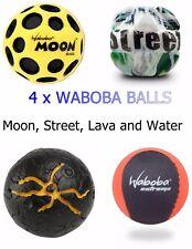 4 X Waboba Balls-Moon Ball, lave balle, STREET BALL, Water Ball-Kool Gadgets