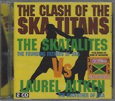 SKATALITES - CLASH OF THE TITANS/GUNS OF NAVARONE (sealed dbl cd) BADfi DCD 011