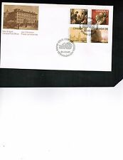 """CANADA  1980  4 STAMPS """"Academy of Arts"""" COMBO on  FDC cat $4. #849-852 BOX 512"""
