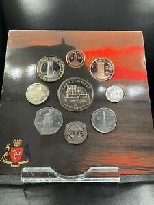 2010 Isle of Man Decimal Coin Set