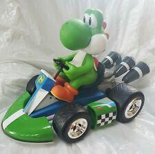 """Nintendo Goldie RC Mario Kart Yoshi Radio Control Large Kart Car 17"""" No Remote"""