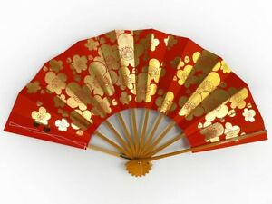 Vintage Japanese Geisha Odori 'Maiogi' FoldingDanceFan from Kyoto: MayIIC
